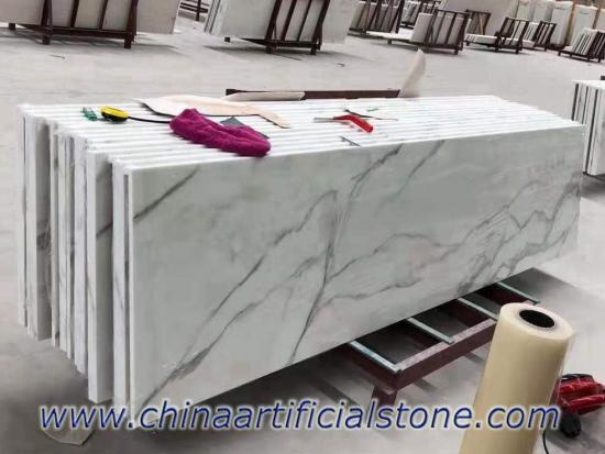 Wholesales Calacatta Look Nanoglass Countertop