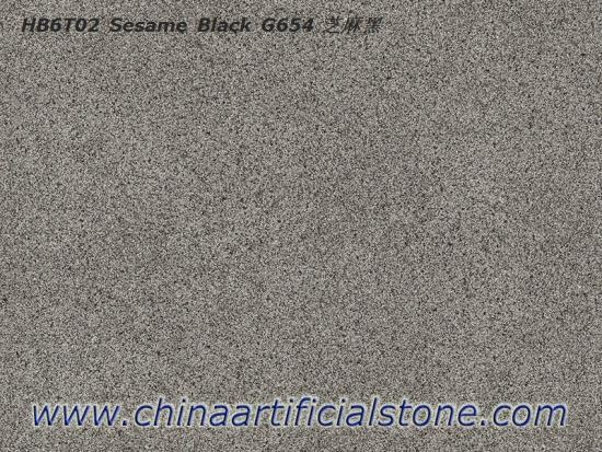 Sesame Black Granite G654 Look Porcelain Paver