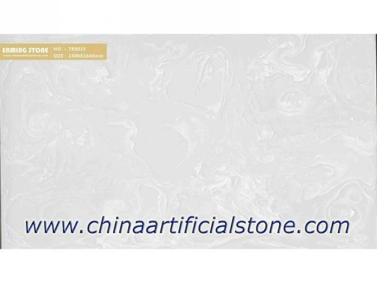 Faux White Onyx Artificial Onyx Stone Panel TR8015