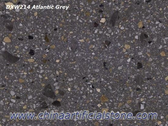 Grey Terrazzo Tiles For Restaurant Flooring