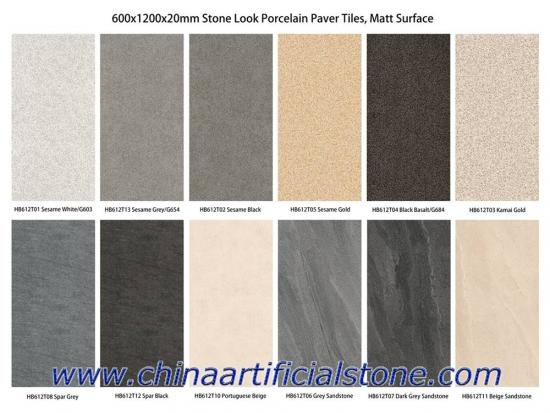 60x120x2cm Porcelain Outdoor Paver Tiles