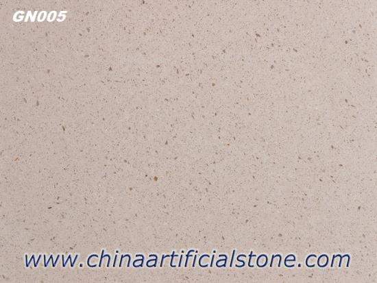 China Top Beige Limestone Look Beige Terrazzo Tiles Factory