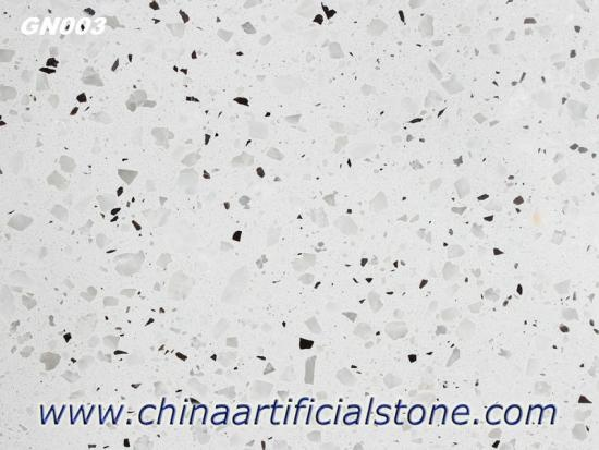 China White Terrazzo Flooring Tile