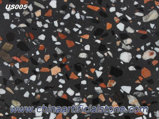 Black Multicolor Indoor and Outdoor Tile