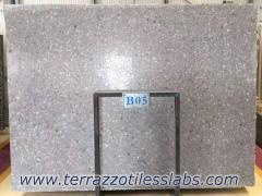 Large Aggregate Terrazzo Slab for Countertops