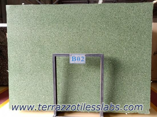 China Top Green Terrazzo Slabs Factory