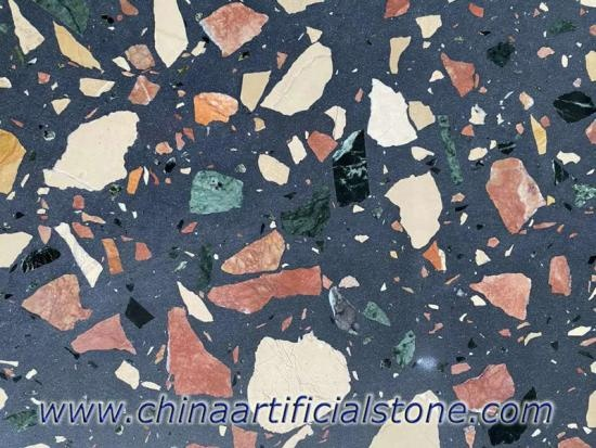 Large Aggregate Terrazzo Slab for Bench Tops