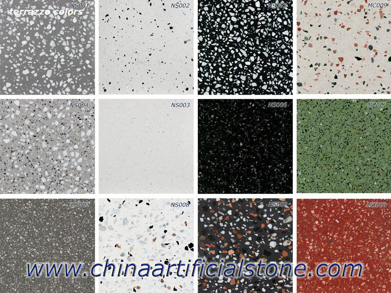 China Precast Terrazzo Slabs Tiles Manufacturer